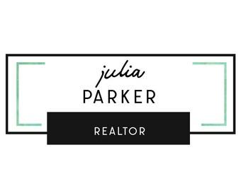Real estate logo, Premade logo design, Realtor custom logo, Small business logo, Simple modern logo, Boutique logo, Blogger logo predesigned