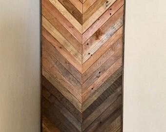 Large Gradient Wood Art