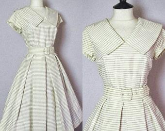 Stunning Original 1950s Tea Dress.