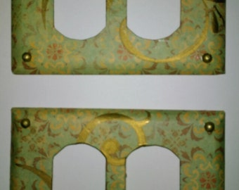 Decorative outlet covers