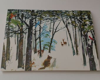 """Vintage Eastern Paralyzed Veterans Association Greeting Card 