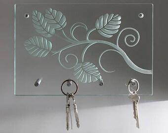 Modern glass 'Sheets' key