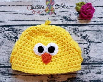 Childrens crochet beanie hat