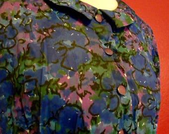 Vintage JC Penny Floral Dress