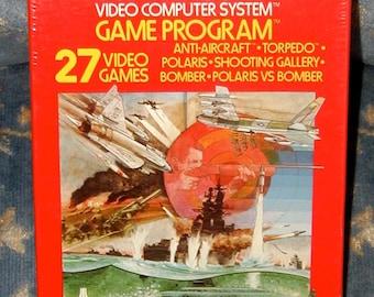 Air Sea Battle Atari 2600 original vintage video game NOS new in box sealed