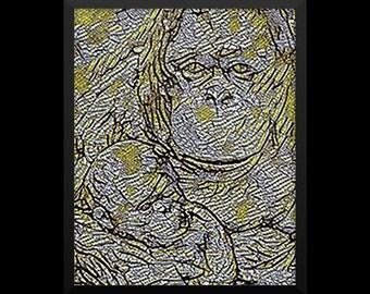 16x20 Framed Poster - Hong Kong Zoo
