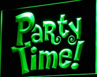 Glow In The Dark Party Supplies Neon Party Supplies Glow Party Ideas Neon Party Ideas Light Up Letter Man Cave Custom Neon Sign LED Display