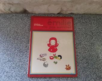 Old book: EMILIE didn't sleep, Domitille Pressensé, 1977