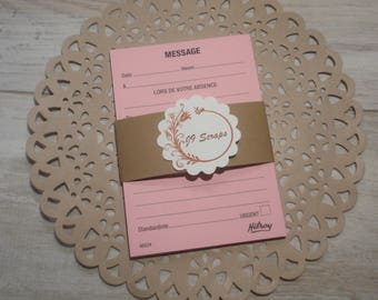 Message Pad - French