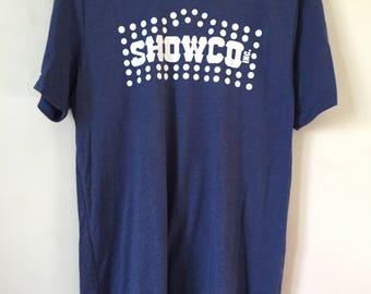 Classic Showco Logo/ tri blend t shirt. Bella Canvas t shirt. Showco sound! 70's / classic rock