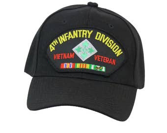 4th Infantry Divison Vietnam Veteran Cap