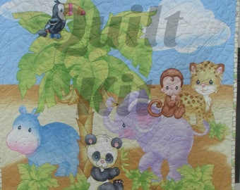 SALE PRICED Fun and Easy Precious Moments Baby Quilt Kit
