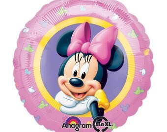 SHIPS FAST - Minnie Mouse Birthday Balloon, Minnie 1st Birthday Party, Minnie Mouse Party, Minnie and Mickey Party