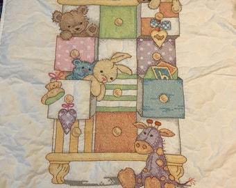 Hand Stitched Baby Quilt