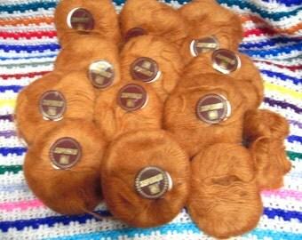 11 skeins x 20 g SuperKid 70% Kid Mohair 30 Acryl Copper 2 Ply very fine yarn