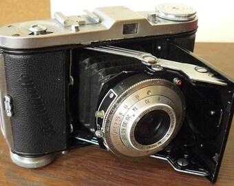 Vintage Balda Bunde Baldinette Camera, No. 750386, 35mm film, Kodablitz Flash, Kamera-Werk, Germany