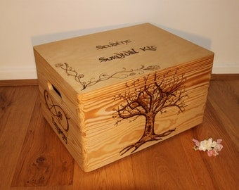 Lord of the Rings Chest - Pyrography