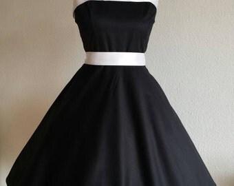 Petticoat 50s rockabilly dress bridal dress prom dance dress
