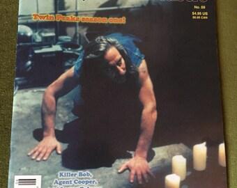 TWIN PEAKS Wrapped in Plastic Magazine #59 rare David Lynch BOB