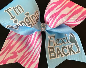 I'm Bringing Flexi Back Cheer Bow