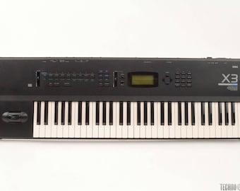 KORG X3, Music Synthesizer, 61-Key Keybord Workstation