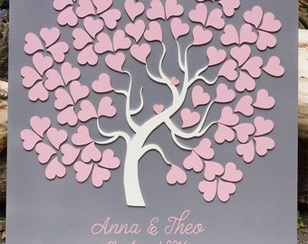 Wedding Tree Guestbook 3D alternativ