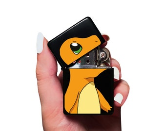 Charmander Lighter For Pokemon Gifts • Video Game Lighter • Best Gamer Gifts • Anime Gift Lighter