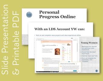 Personal Progress Online Overview
