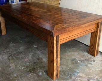 SOLD Handmade Maple Coffee Table