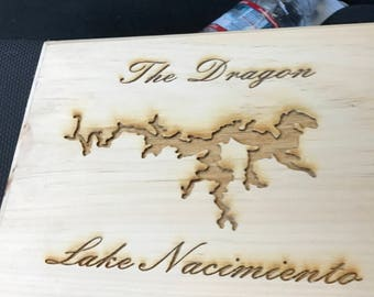 Custom Laser Engraved Wood Sighns