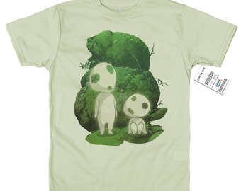 Kodama T shirt, tree spirits