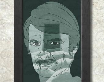 Andrei Tarkovsky Poster Print A3+ 13 x 19 in - 33 x 48 cm  Buy 2 get 1 FREE