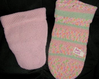 Pink Baby Cozy wrap snuggle clothes