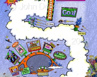 Journey Home Get Well Map