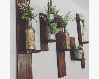 Wooden Shelves (Set of 2)