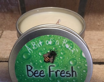 Bee Fresh -  Soy Wax Candle