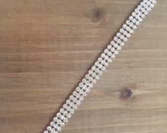 Gorgeous Chain Rhinestone Bracelet