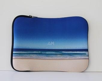 Neoprene Laptop Case, Laptop Bag, Laptop Skin, Laptop Case, Laptop Cover, Laptop Sleeve, Computer Case, Computer Bag, Computer Sleeve, Beach