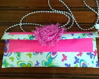 Duck tape purse - Butterfly