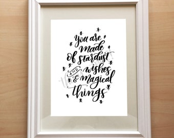 Stardust & Wishes Print - Perfect for a Nursery!