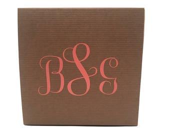 Monogram Add On - Custom Box Orders