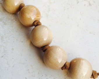Grasping Beads - Montessori inspired (Simply natural accents)