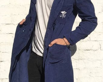 Blue Corduroy US Military Doctor Robe