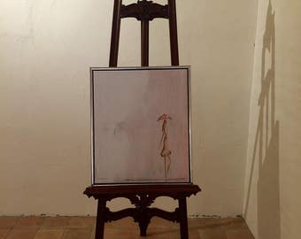 Pink Umbrella oil painting