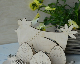 Easter decoration for painting