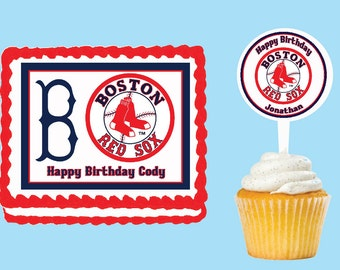 Red Sox Party Etsy