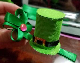 St. Patrick's Day hat clip