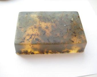SOAP with chamomile, calendula and echinacea.
