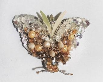 Handmade Butterfly Brooch- SOLD