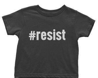 Resist Shirt | Organic Baby Clothes | Kids Resist Shirt | Resistance Shirt | Kids Political Shirt | #Resist Shirt Kids | Anti Trump Shirt